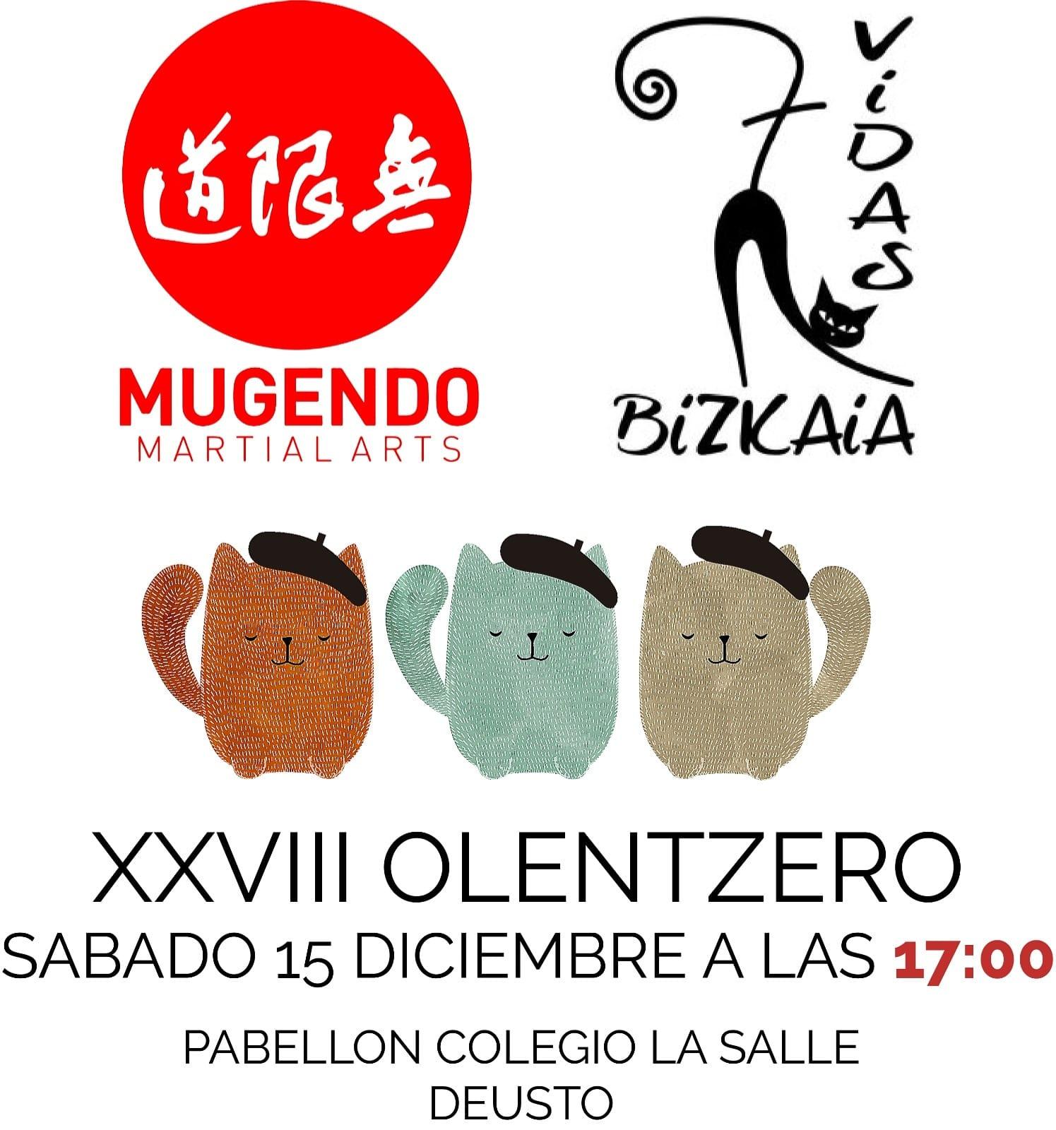 XXVIII Olentzero Mugendo