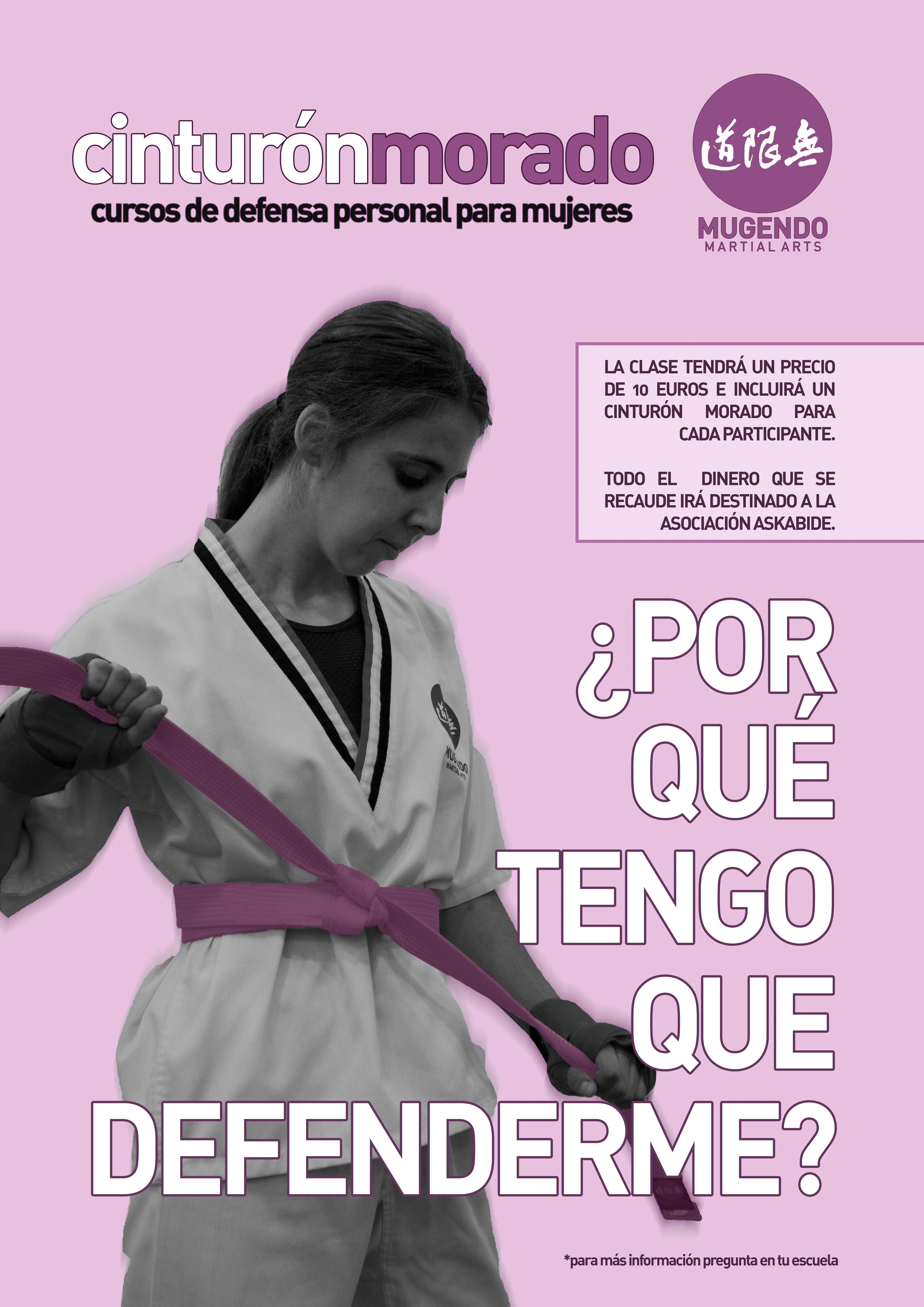 Cinturón Morado, el curso de defensa personal contra la violencia de género